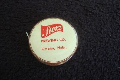 1920s Storz Brewing Co Advertising Celluloid Measuring Tape