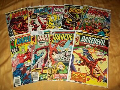 Daredevil # 132 - 140 Comics Complete VF NM Run Hi Grade Lot 133 134 135 136 137