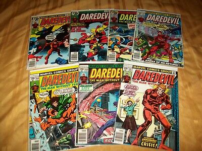Daredevil # 151 - 157 Comics Complete VF NM Run Hi Grade Lot 152 153 154 155 156