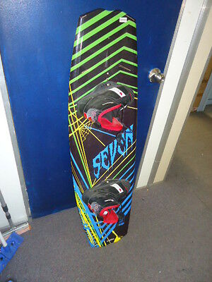 Wakeboard Seven Dup With Ml Boarding Boots