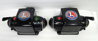 TWO Vintage Lionel Type ZW Power Transformer Lot Tested