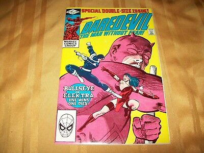 Daredevil # 181 Comic 9.6 NM+ Death of ELEKTRA High Grade 168 Key Netflix