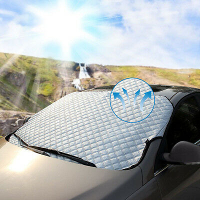 1x Universal 4seasons Car Front Windshield Snow Cover Frost Sun Shade Protector