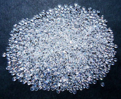 1000pc Round 1 mm AAA Loose Cubic Zirconia Stone for Jewelry Ring Pendant