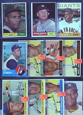 Huge 325 Card Vintage Rookie Hall Of Fame Baseball Football + Collection Lot $$