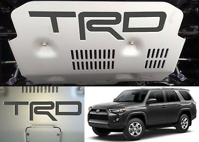 Magnetic Grey Vinyl TRD Skid Plate Inserts For 2015-2018 Toyota 4Runner New USA