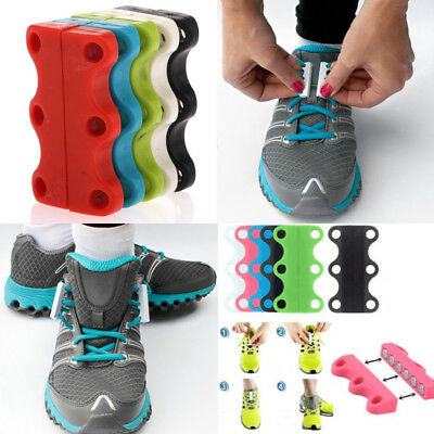 Novelty Lazy Shoelace Closure Shoe Buckles No-Tie Casual Magnetic Sneaker