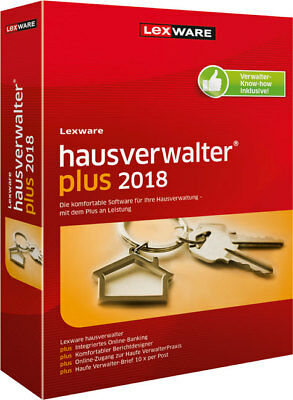 Lexware Hauverwalter Plus 2018, CD-ROM