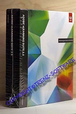 Adobe eLearning 2.5 Windows + Photoshop CS5 Extended englisch Box DVD -incl.MwSt