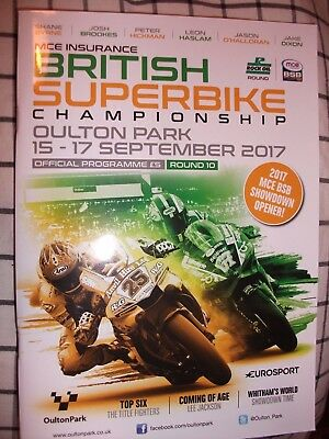 British Super bikes oulton park 15-17 sep 2017