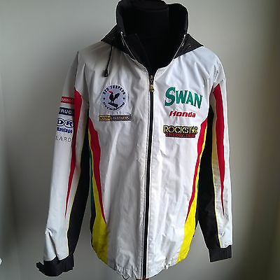 Swan Honda Bsb Superbike Pit Jacket Red Torpedo Official Merch Size Adult Xl