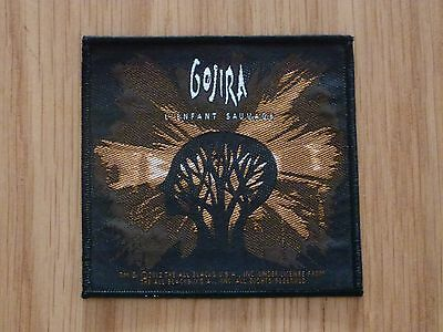 Gojira - L'enfant Sauvage (New) Sew On W-Patch Official Band Merchandise