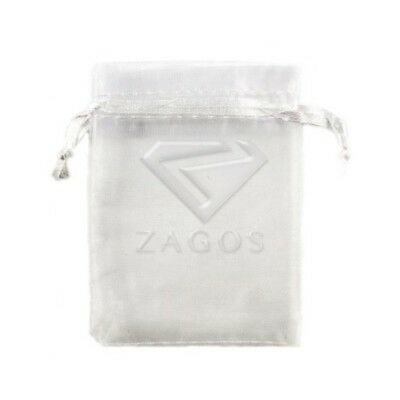 25pcs 7x9cm White ORGANZA XMAS GIFT BAGS Wedding Favor Jewelry Candy Pouches
