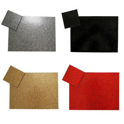 Sparkly Glitter Effect Placemats & Coasters Modern Tablemat Dinner Table Setting