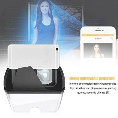 Augmented Reality AR Glasses Showing Holographic Projection Effect AR Games KS