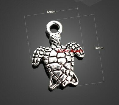Wholesale! 20pcs tibet silver sea turtles charms 16x12mm