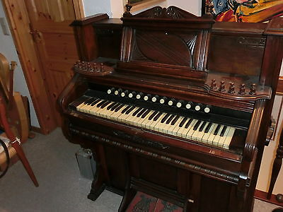 "altes Harmonium antik ""Chicago Cottage"" Sammlerstück"