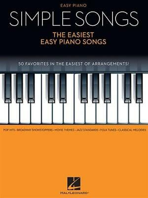 Hal Leonard Corp / Simple Songs - The Easiest Easy Piano Son ... 9781495011238