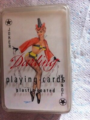 Vintage Risque Playing Cards  Darling Brand