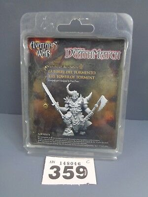 Wargames Avatars of War The Tower of Torment Chaos Lord Clearance Lot 359