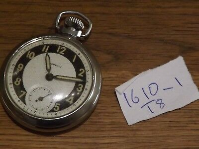 Good Vintage Ingersoll  Pocket  Watch Working