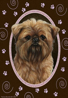 Large Indoor/Outdoor Paws Flag - Brussels Griffon 17128