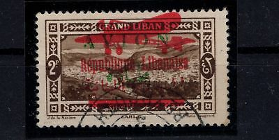 P43260/ Grand Liban / Lebanon / Maury # 29A Certificate / Obl / Used 688 €