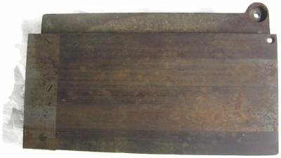 J.D. Wallace 6 Inch Knife Jointer Table Antique Cast Iron Tool Part marked 401
