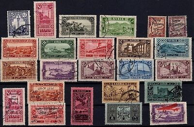 P43287/ Syrrie / Syrria / Lot 1924 - 1926 Obl / Used 98 €