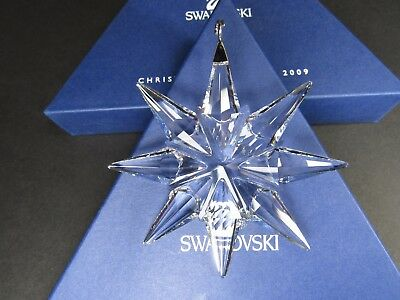 Swarovski Large Annual Edition Christmas Ornament 2009 MIB #983702