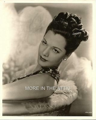Sexy Exotic Sultry Maria Montez Original Vintage Hollywood Glamour Portrait