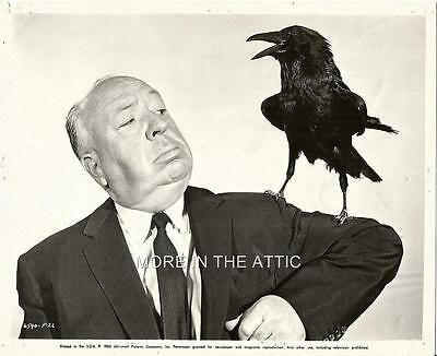 Alfred Hitchcock And Friend Original Universal Horror Pictures Portrait Still