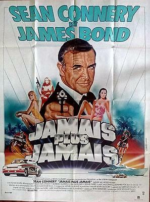 Sean Connery Is James Bond Never Say Never Again Original French 1P Poster