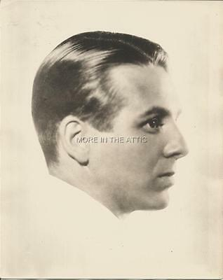 Young Wallace Ford Of Freaks Fame Vintage Original Portrait Still