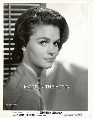 A Young Pretty 27 Year Old Lee Remick Orig Columbia Pictures Portrait #3