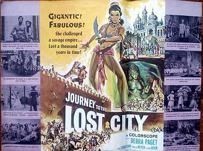 Sexy Pebra Paget Journey To The Lost City Original Fritz Lang Uncut Us Pressbook