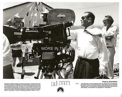 Jack Nicholson Directs The Two Jakes Original Bts Behind The Scenes Still
