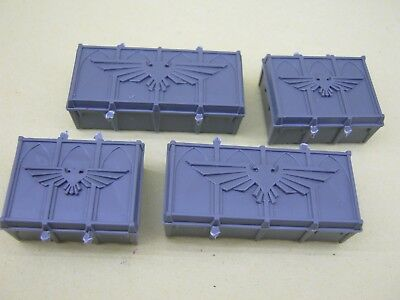 Armoured Containers x 4 - 40k - Shadow War Armageddon - Horus Heresy