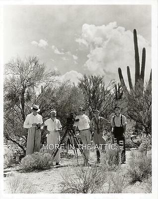 Rare Behind The Scenes Unknown Hollywood Production Still #6