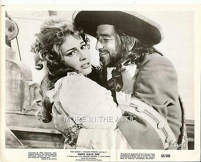 Pier Angeli Is In Trouble Aboard The White Slave Ship Orig Sitll #1