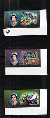 Qt Cook Islands - Mnh - Flowers - Butterfly - Fish - Imperf