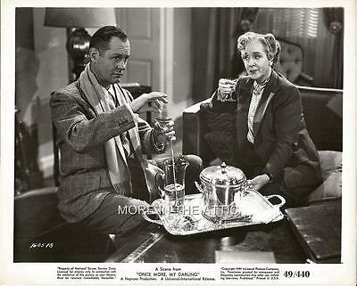 Robert Montgomery Once More My Darling Original Universal Pictures Still