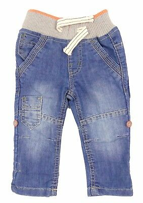 Boys Jeans Toddler Sizes 9-12m 12-18m 18-23m 2-3y Soft Comfort Waistband Pull Up
