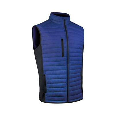 Sunderland of Scotland Golf 2017 Vermont Padded Gilet Vest (Electric Blue/Black)