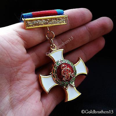DSO Medal : Distinguished Service Order Military Decoration British Medal repro!