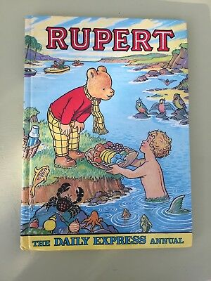 Rupert  Annual 1975  The Daily Express Annual Unclipped and not inscribed