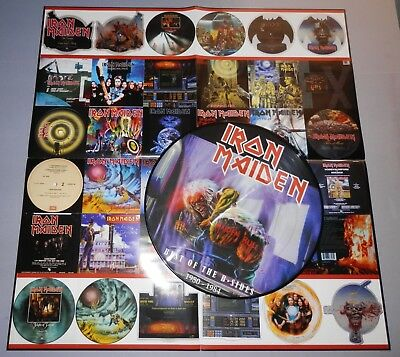 Iron Maiden - Best Of The B-Sides Picture Disc LP + Poster