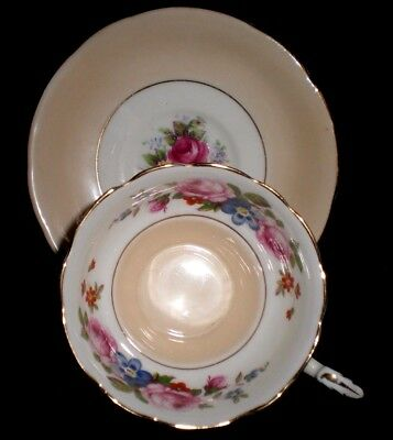 Vintage Paragon Bone China Blush 67696 By Appointment  Cabinet Cup & Saucer(71)