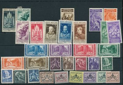 VATICAN Earlies Used MH MNH (30+Stamps) AG1625s