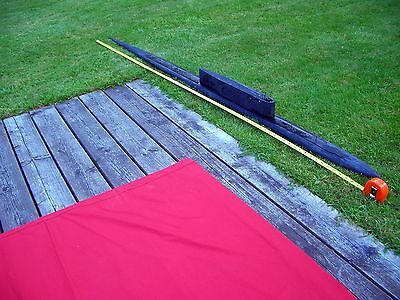 RUSSIAN NAVY NUCLEAR SUBMARINE Movie Film Prop 6.5 ft Long 1:72 Maritime Model